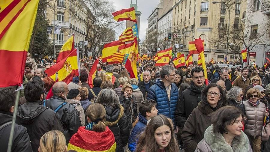 В Испании прошли протесты секс-работников